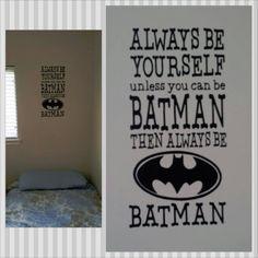 Batman Vinyl Wall Decal