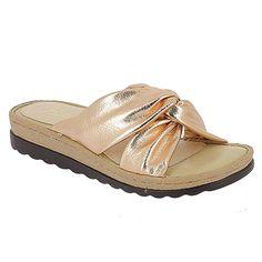 08eebbb0a0c Parex Γυναικείες Παντόφλες Comfort Με Φάσα (Χαλκός) 12117002 #parex  #parex_shoes #shoes