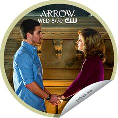 """Secrets will be revealed when Oliver questions his mother, Moira. Thanks for watching! You've just unlocked the """"Betrayal"""" sticker. Share this one proudly. It's from our friends at The CW."""