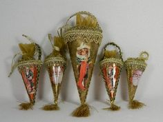 Cone christmas ornaments