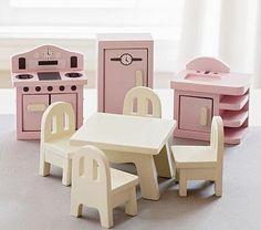 Dollhouse Kitchen Set #PotteryBarnKids