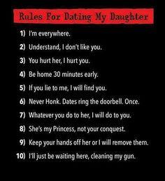 Daughter dating jokes