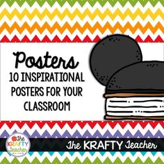 Inspire and Decorate!I love quotes! I also love using quotes in my classroom! This collection of inspirational quotes is sure to inspire the Disney lover and beyond. 10 decorative posters including quotes fromMulanCinderellaTangledFrozenPinocchioThe IncrediblesThe Lion KingMary PoppinsPocahontasand Walt Disney*****************************************************************************Find Coordinating Products by clicking the links below!Reading Comprehension Posters.Multiples…
