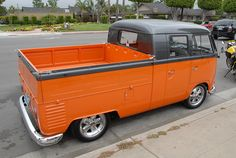 VW Split Twin Cab | Andrew Frood | Flickr