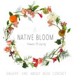 A Native Bloom - Bend Oregon Florist - lovely logo