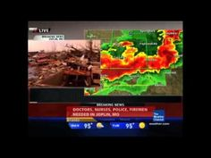 Live coverage of the Joplin tornado disaster on May 2011 on The Weather Channel. Severe Weather, Extreme Weather, Joplin Tornado, Fire Tornado, Joplin Missouri, Weather Storm, Off The Map, Severe Storms, Tornadoes