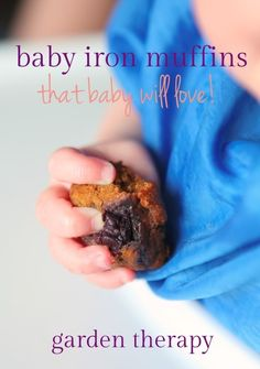 MUFFINS FOR KIDS - Iron Muffin recipe that your baby will love