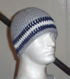 56b35d9cd Hand Crochet Dallas Cowboys UNISEX Beanie