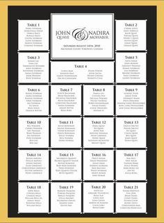 Wedding Seating Chart Template Free Premium Templates More