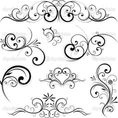 Fotosearch – Search Clip Art, Illustration Murals, Drawings and Vector EPS Graphics Images Clipart – Vector scroll ornament. Fotosearch – Search Clip Art, Illustration Murals, Drawings and Vector EPS Graphics Images Stencils, Muster Tattoos, Scroll Design, Swirl Design, Art Design, Shape Design, Vector Design, Design Elements, Flower Tattoos
