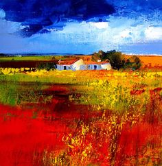 Artwork of Derric van Rensburg exhibited at Robertson Art Gallery. Original art of more than 60 top South African Artists - Since Landscape Artwork, Landscape Pictures, Pictures To Paint, Art Pictures, Art Is Dead, South African Artists, Beautiful Paintings, Watercolor Art, Scenery