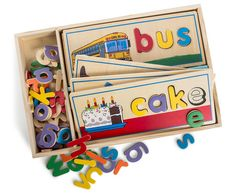 Melissa & Doug See & Spell Puzzle Toy