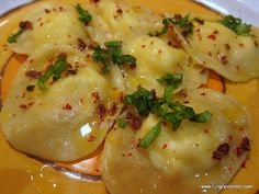 LEMON AND GOAT'S CHEESE RAVIOLI (Ottolenghi Recipe)