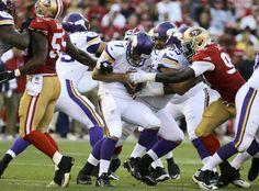 San Francisco 49ers Aldon Smith, Minnesota vikings Christian Ponder