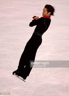 Daisuke Takahashi of Japan competes during the short program of the Smart Ones Skate America on October 20 2005 at Boardwalk Hall in Atlantic City...