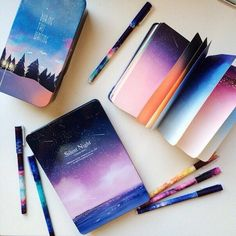 art, notebook, and colors image