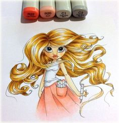 123 Best Cards with Copic coloring images in 2019 | Cards ...