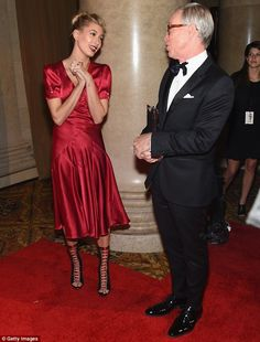 His new muse?: The 19-year-old is becoming one of the most in-demand models around and was...