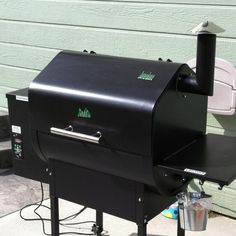 Green Mountain Grill.  I love this thing.  I'm never cooking inside again. Plus, my gas grill or oven never made food taste so good.