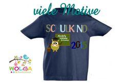 T-Shirt Schulkind von WOLGA-kreativ auf DaWanda.com