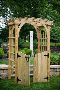 Gazebo Depot - Solid Gate w hardware