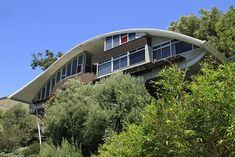 The Garcia Residence, a.k.a. The Rainbow House - John Lautner, 1962 | Angeleno Living