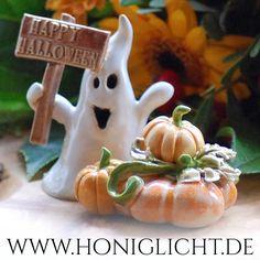 Happy Halloween mit Honiglicht-Keramik