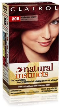 Clairol Natural Instincts Hair Color Dark Red R