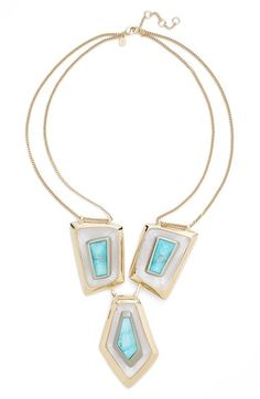 Alexis Bittar Jewel Bib Necklace available at #Nordstrom