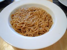 Hibachi Style Noodles  2 Tbs. soy sauce  6 Tbs. sugar  2 Tbs. honey  2 Tbs. oil  1/2 tsp. garlic powder  1/2 tsp. chili powder