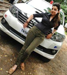 Kajal Aggarwal in Jilla Shooting Spot