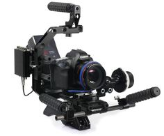 Canon 5D and Canon 7D camera rigs