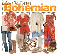 """""""How to Dress Bohemian"""" by the-awful-nerds ❤ liked on Polyvore"""