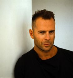 Bruce WILLIS (b. [] Active since 1980 > Born Walter Bruce Willis 19 March 1955 West Germany > Citizenship: American > Other: Producer, Writer, Musician, Singer > Spouses: Demi Moore div); Emma Heming (m. Famous Men, Famous Faces, Gorgeous Men, Beautiful People, Emma Heming, Celebridades Fashion, Demi Moore, Hollywood, Celebs