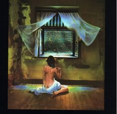 The more a person limits himself, the more resourceful he becomes. A solitary prisoner for life is extremely resourceful; to him a spider can be a source of great amusement. - Søren Kierkegaard, Either/Or (1843) / Photo by Jan Saudek: Zuzanka's Night Window (1979)