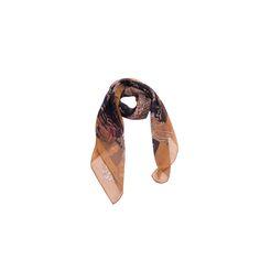 Lenço Big Folha Verde Água de Satin #lenços #lenço #scarf #scarfs