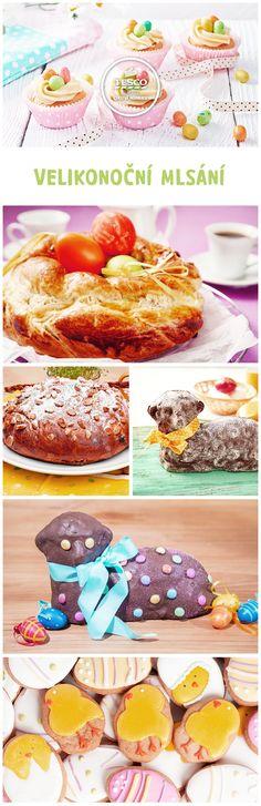 Velikonoční mlsání http://www.tescorecepty.cz/novinky/detail/254-velikonocni-mlsani-tipy-na-sladka-velikonocni-jidla