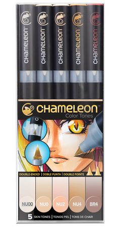 Chameleon Pens are an alcohol based marker system that allows you to change color at the source! Inks are refillable, nibs are replaceable. Chameleon Pens- simple, seamless, one pen blends                     $26.99