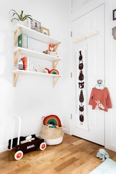 When your nursery is small, making the most out of every little space is a MUST!