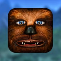 Star Wars 'App'Icons /// Chewbacca /// by Danish designer Michael Flarup