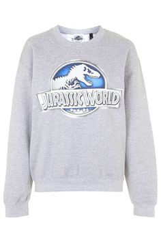 3ac5f61b111a9c Jurassic World Sweatshirt by Tee   Cake - Topshop Jurassic World Shirt