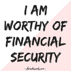 Money Affirmations to Manifest Abundance from Personal Finance Blog for Women, She Makes Cents | Law of Attraction #FinanceBlog