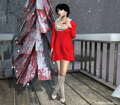 Sims, Platform, Punk, Dresses With Sleeves, Long Sleeve, Style, Fashion, Swag, Moda