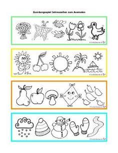 die jahresuhr | kalender für kinder, jahreszeiten arbeitsblatt, jahreszeiten