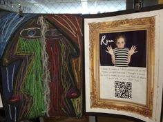 Tech-Integrated Student Work Displays using QR codes and 21st Century Learning projects