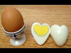 Лайвхак! Как сварить яйца в форме сердец! Полезные советы