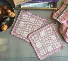 Stick O, My Emma, Crochet Potholders, Crochet Kitchen, Pot Holders, Knit Crochet, Blanket, Sewing, Knitting