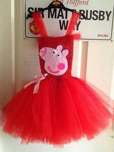 Peppa pig inspired dress Www.facebook.com/tutucut3x