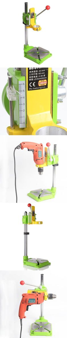 MINIQ Electric Drill Stand Precision Power Rotary Tools Bench Accessories Multifunction Fixed Bracket Base Woodworking Tools