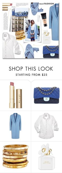 """""""Fashion project: Get the city look/brunch style"""" by norairh ❤ liked on Polyvore featuring Stila, Chanel, Sandro, N°21, Ashley Pittman, Marc Jacobs and Maybelline"""